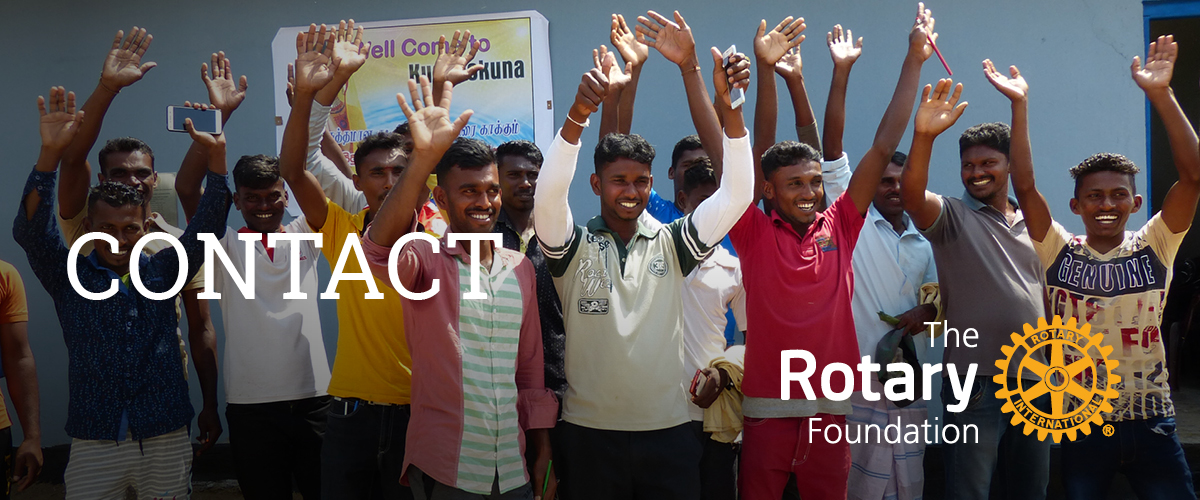 Contact Rotary District 6600 Giving & Grants