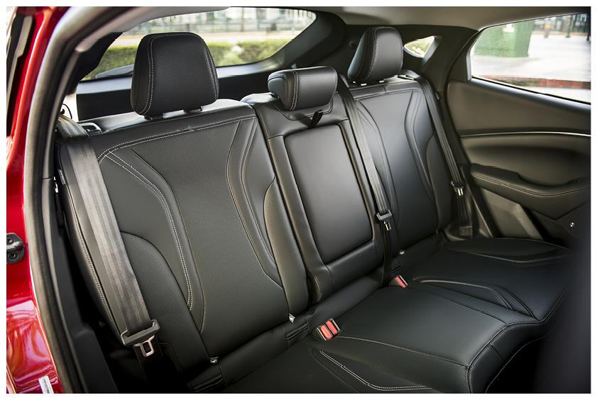 Mustang Mach E interior back seats