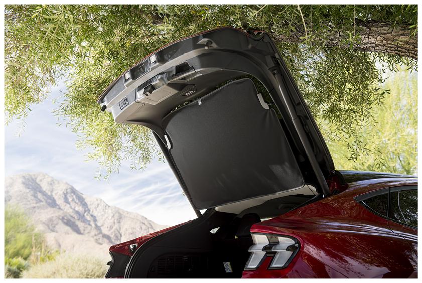 Mustang Mach E trunk