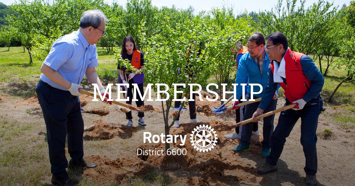 Rotary District 6600 Membership